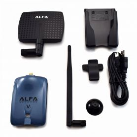 Alfa AWUS036NHV Wireless N USB Adapter + 7dBi Antenna + U-Mount