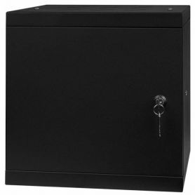 "Rack Cabinet 10"" 6U, 300MM Full Door, Black"