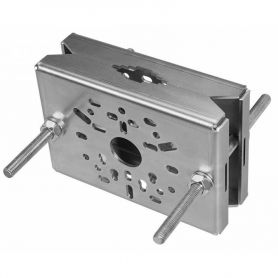 Pole holder for camera galvanized