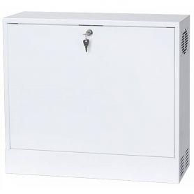 "Rack Case 19"" 2U 130mm White"