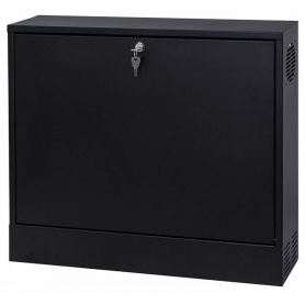 "Rack Case 19"" 2U 130mm Black"