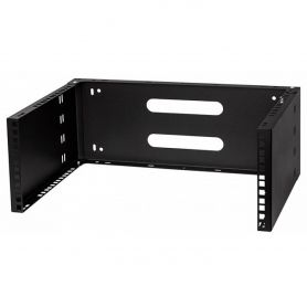 "Rack Holder Wall Mounted 19"" 4U, 330mm, Black"