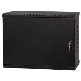 "Rack Cabinet 19"" 3U 180mm, Black"