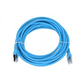 Cat.6a Patch Cable 5m blue