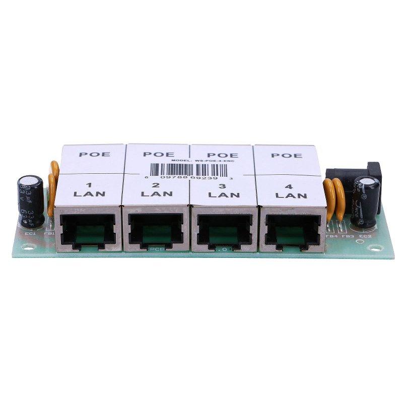 Poe Injector 4 Port Poe4p Poe Panels Power Adapters