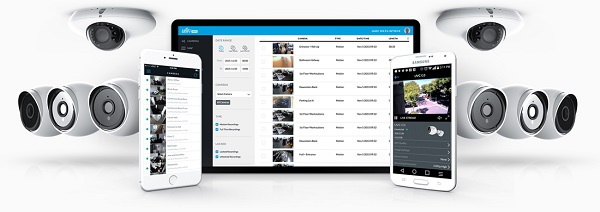 The UniFi Video mobile app